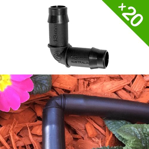 Grow Insane 13mm Elbow Connector